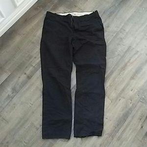 Black frayed slacks size 30 H&M slim fit